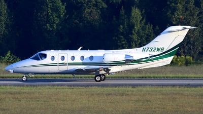 N732WB - Raytheon Hawker 400XP - Private