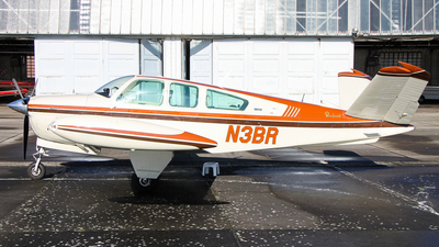 N3BR - Beechcraft V35 Bonanza - Private
