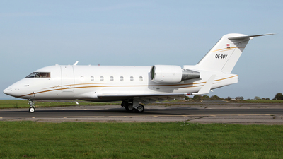 OE-IOY - Bombardier CL-600-2B16 Challenger 604 - Avcon Jet