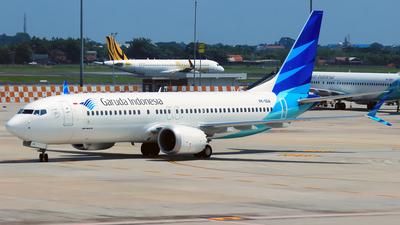 PK-GDA - Boeing 737-8 MAX - Garuda Indonesia