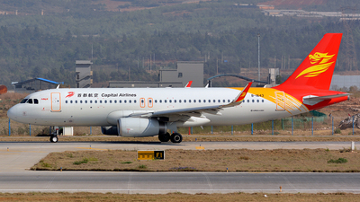 B-1643 - Airbus A320-232 - Capital Airlines