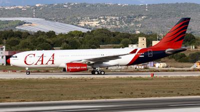 A picture of ECLQO - Airbus A330243 - [0505] - © Javier Rodriguez - Amics de Son Sant Joan