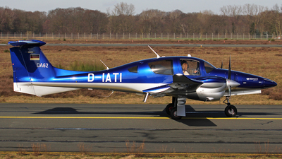 D-IATI - Diamond Aircraft DA-62 - Private