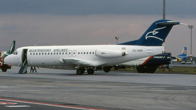 YU-AOH - Fokker F28-4000 Fellowship - Montenegro Airlines