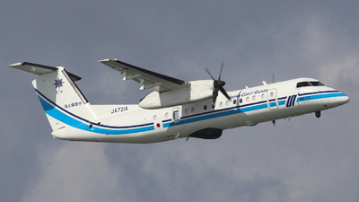 JA721A - Bombardier Dash 8-Q315 - Japan - Coast Guard