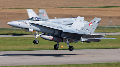 J-5023 - McDonnell Douglas F/A-18C Hornet - Switzerland - Air Force
