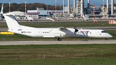 A picture of DABQN - De Havilland Canada Dash 8400 - [4124] - © RAFAL KUKOWSKI