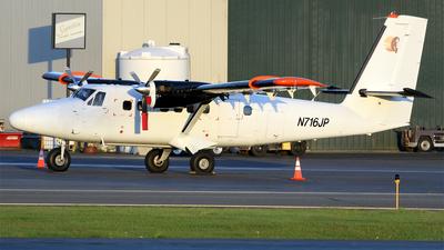 N716JP - De Havilland Canada DHC-6-300 Twin Otter - Bald Mountain Air Service