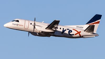 VH-KDV - Saab 340B - Regional Express (REX)