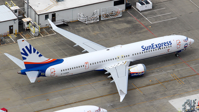 D-ASMA - Boeing 737-9 MAX - SunExpress Germany