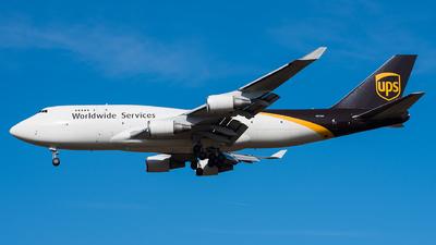 N579UP - Boeing 747-45E(BCF) - United Parcel Service (UPS)