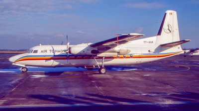 TT-AAK - Fokker F27-600 Friendship - Air Tchad