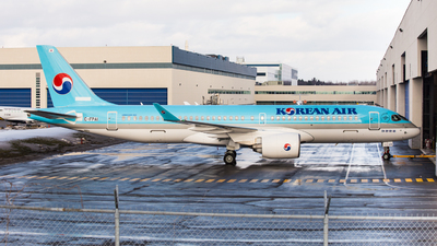 C-FPAI - Airbus A220-300 - Korean Air