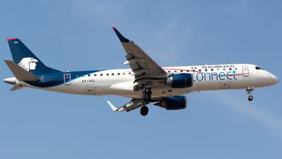 A picture of XAAEL - Embraer E190AR - Aeromexico Connect - © Antonio Velasco (MAS Aviation Press)