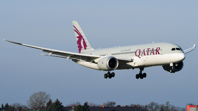 A7-BCX - Boeing 787-8 Dreamliner - Qatar Airways