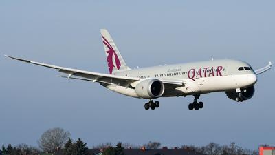 A picture of A7BCX - Boeing 7878 Dreamliner - Qatar Airways - © Eryk Strzala