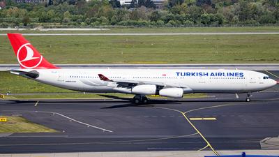 TC-JII - Airbus A340-313 - Turkish Airlines