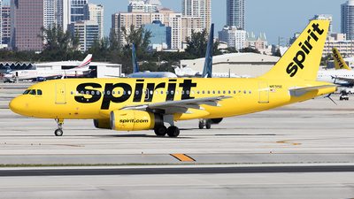 N531NK - Airbus A319-132 - Spirit Airlines