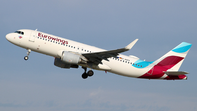 D-AIZV - Airbus A320-214 - Eurowings