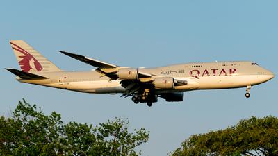 A7-HHF - Boeing 747-8Z5(BBJ) - Qatar - Amiri Flight