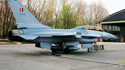 FB-08 - General Dynamics F-16B Fighting Falcon - Belgium - Air Force
