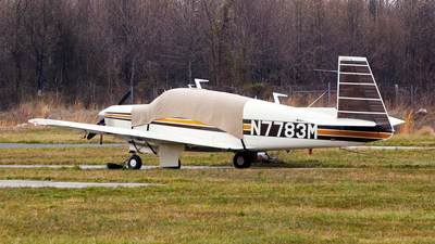 N7783M - Mooney M20F - Private