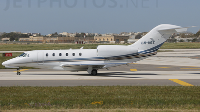 LN-HST - Cessna 750 Citation X - Sundt Air