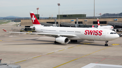 HB-JHA - Airbus A330-343 - Swiss