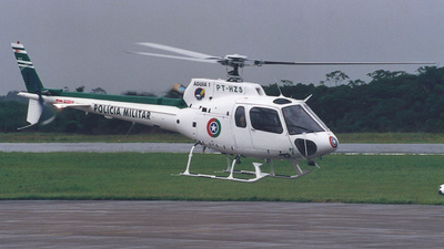 PT-HZS - Helibrás AS-350B2 Esquilo - Brazil - Military Police