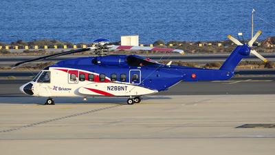 A picture of N288NT - Sikorsky S92A - [920288] - © Adolfo Bento de Urquía