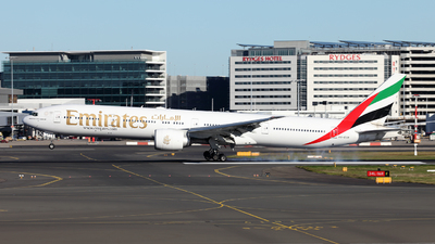 A picture of A6ECR - Boeing 77731H(ER) - Emirates - © Morris Biondi
