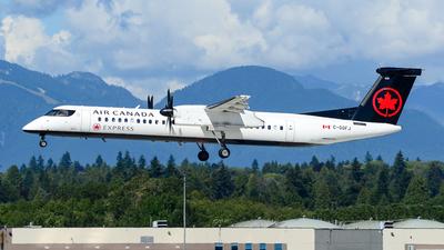 A picture of CGGFJ - De Havilland Canada Dash 8400 - Air Canada - © Chung Kwok
