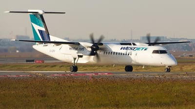 A picture of CGENO - De Havilland Canada Dash 8400 - WestJet - © Alex I.