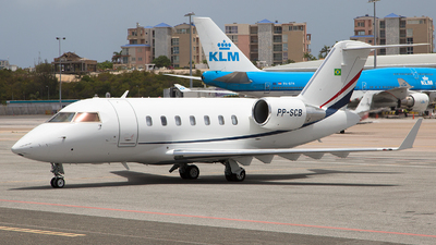PP-SCB - Bombardier CL-600-2B16 Challenger 605 - Private