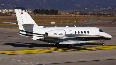 HB-JTS - Cessna Citation Latitude - Private