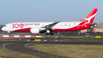 A picture of VHZNJ - Boeing 7879 Dreamliner - Qantas - © Drake D Kao