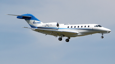 A picture of N864MM - Cessna 750 Citation X - [7500071] - © toyo_69pr