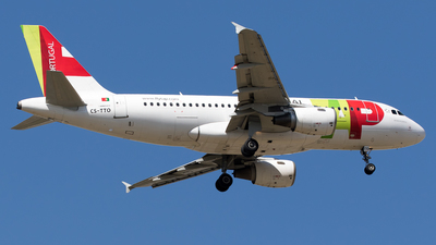 CS-TTO - Airbus A319-111 - TAP Air Portugal