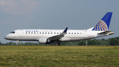 N724YX - Embraer 170-200LR - United Express (Republic Airlines)