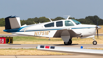 N17516 - Beechcraft V35B Bonanza - Private