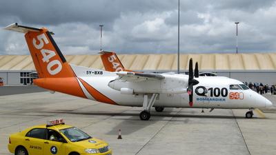 5Y-BXB - Bombardier Dash 8-102 - Fly540