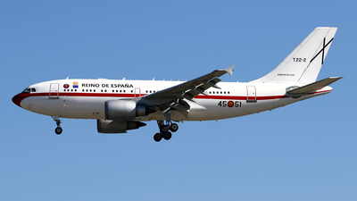 T.22-2 - Airbus A310-304 - Spain - Government