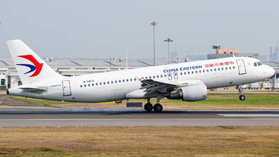 A picture of B6870 - Airbus A320214 - China Eastern Airlines - © FIWH