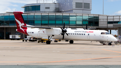 VH-QOB - Bombardier Dash 8-Q402 - QantasLink (Sunstate Airlines)