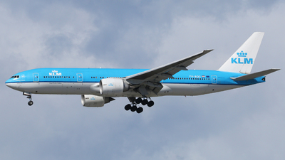 PH-BQG - Boeing 777-206(ER) - KLM Royal Dutch Airlines