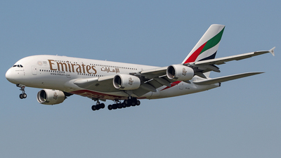 A picture of A6EDG - Airbus A380861 - Emirates - © Kees Marijs
