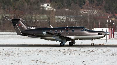 OY-GSB - Pilatus PC-12/47 - Copenhagen Air Taxi (CAT)