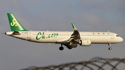 A picture of B321G - Airbus A321253NX - Spring Airlines - © Palpa-Wang