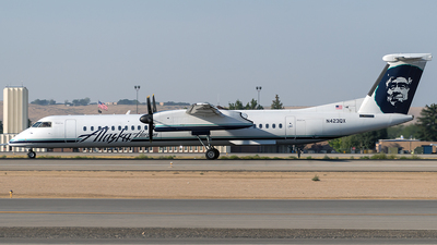 N423QX - Bombardier Dash 8-Q402 - Alaska Airlines (Horizon Air)