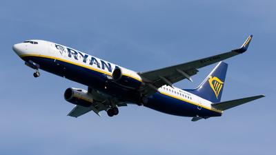 A picture of EIENS - Boeing 7378AS - Ryanair - © Fryderyk Kastelnik/ Fred Aviation